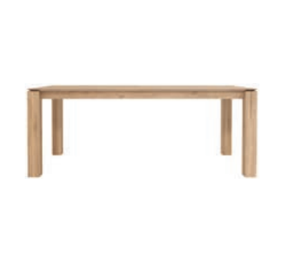 Table fixe en bois Technicraft Galerie Alreenne