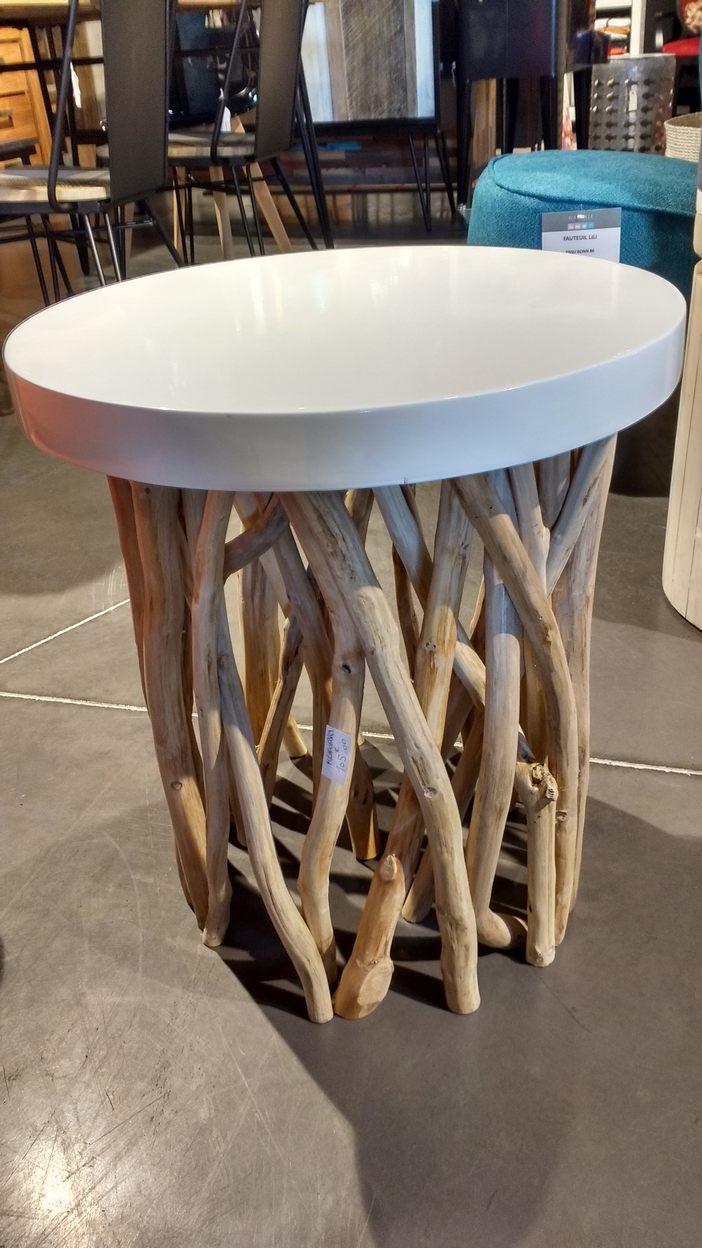 Table basse ronde - La Galerie Alréenne