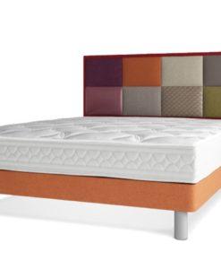 Tête de lit effet patchwork