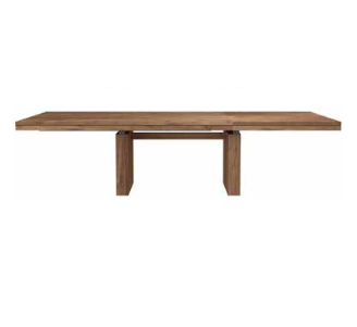 La En Galerie Double Ethnicraft Extensible Table Teck Alréenne c35u1TFJlK
