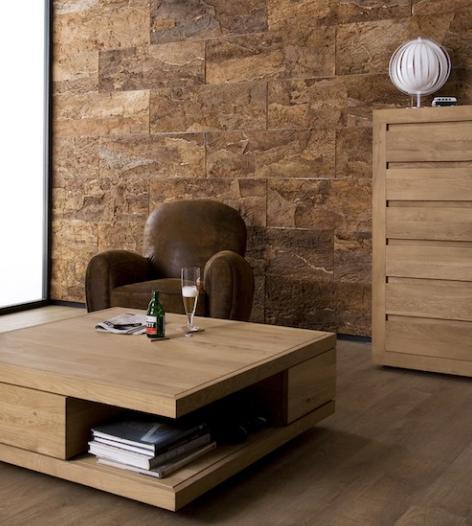 meuble de rangement en ch ne flat ethnicraft la galerie. Black Bedroom Furniture Sets. Home Design Ideas