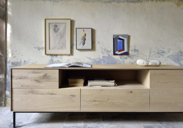 sélection premium f6829 6274d Meuble TV en chêne Whitebird Ethnicraft - La Galerie Alréenne