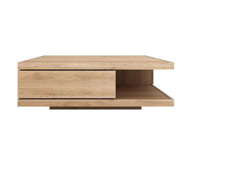 table basse en ch ne flat ethnicraft la galerie alr enne. Black Bedroom Furniture Sets. Home Design Ideas