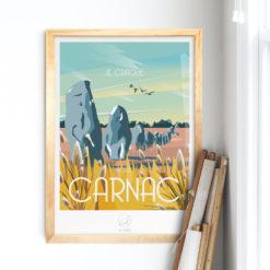 Affiche-CARNAC-La-Loutre