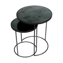 table d'appoint gigognes charcoal ethnicraft