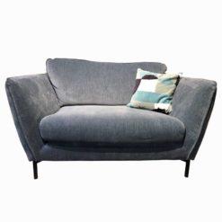 fauteuil stella 1,5 places xxl bleu sits