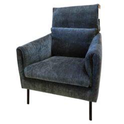 fauteuil penny sits bleu
